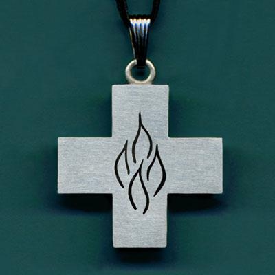 Large Cross of Pentecost (Weston Priory logo)